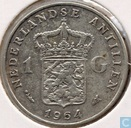 Netherlands Antilles 1 Guilder 1964 (fish with star)