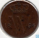Pays-Bas ½ cent 1864