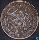 Coins - the Netherlands - Netherlands 1 cent 1914