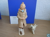 Most valuable item - Tintin and snowy walking