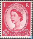 Queen Elizabeth II (Wilding)-Sideways Watermark