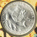 "Italië 200 lire 1989 ""Christopher Columbus - 500 Years Anniversary of discovery of America"""