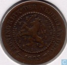 Pays-Bas ½ cent 1883