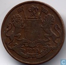 East India Company ¼ anna 1835 (Madras - large value)