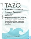 Tea bags and Tea labels - Tazo® - berryblossom white
