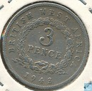 Brits-West-Afrika 3 pence 1943 (H)