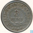 Brits-West-Afrika 3 pence 1940 (H)
