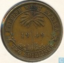 British West Africa 2 shillings 1949 (KN)