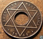 British West Africa 1/10 penny 1944