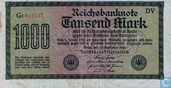 Reichsbank, 1000 Mark 1922 (75Q)
