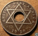 British West Africa ½ penny 1920 (KN)