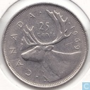 Coins - Canada - Canada 25 cents 1969