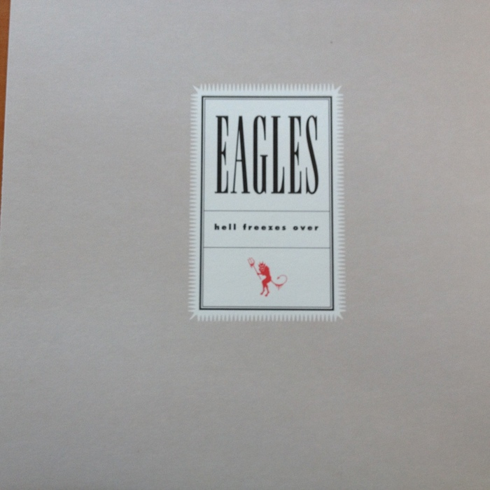 "The Eagles  2 LP  ""Hell Freezes Over"""