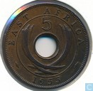 Oost-Afrika 5 cents 1955 (KN)