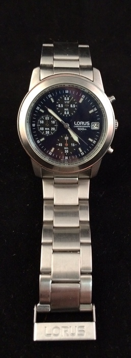 how to adjust watch band lorus