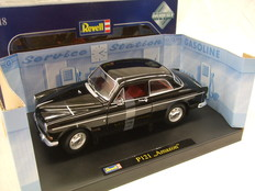 Revell - Scale 1/18 - Volvo Amazon P121 - Colour: Black
