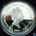"Pitcairn Inseln 2 Dollar 2009 (PROOF) ""Captain William Bligh"""