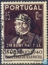 100 years anniversary stamp