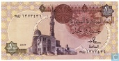 Egypt 1 Pound 1987, 16 June