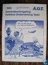 Divers - Autobus onderneming Texel - 1995 zomerdienstregeling A.O.T.