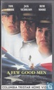 DVD / Video / Blu-ray - VHS videoband - A Few Good Men