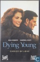 DVD / Video / Blu-ray - VHS video tape - Dying Young