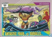 Fantastic Four vs Skrulls