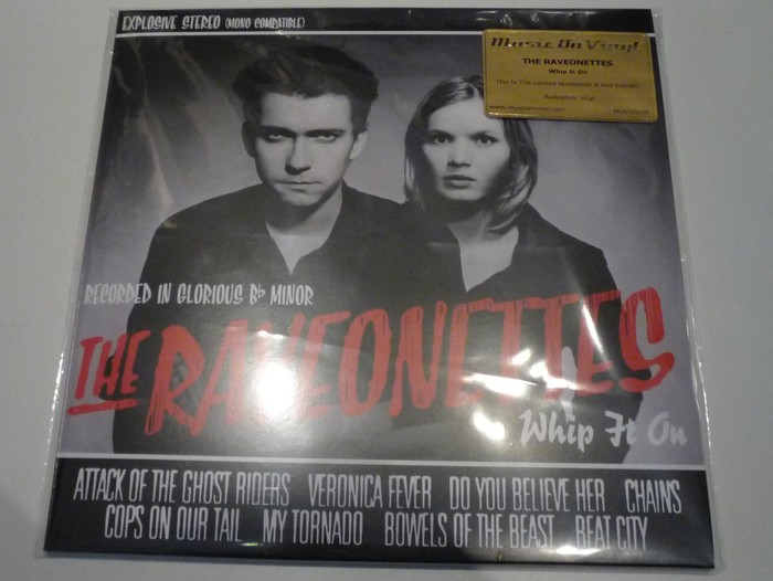 The Raveonettes Whip It On Limited Numbered 10inch