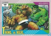 Thing vs Hulk