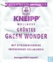 Tea bags and Tea labels - Kneipp® - Green Wonder