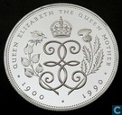 "United Kingdom 5 pounds 1990 (PROOF - Silver) ""90th Birthday of Queen Mother"""