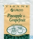 Tea bags and Tea labels - Lalco - Ananas & Pamplemousse