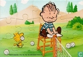 Peanuts - Tennis (links/boven)