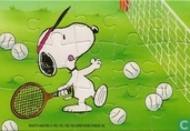 Peanuts - Tennis (links/onder)