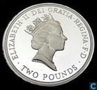 "United Kingdom 2 pounds 1995 (PROOF - Silver) ""50th anniversary end second world war"""