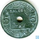 USA Missouri sales tax 5 mill