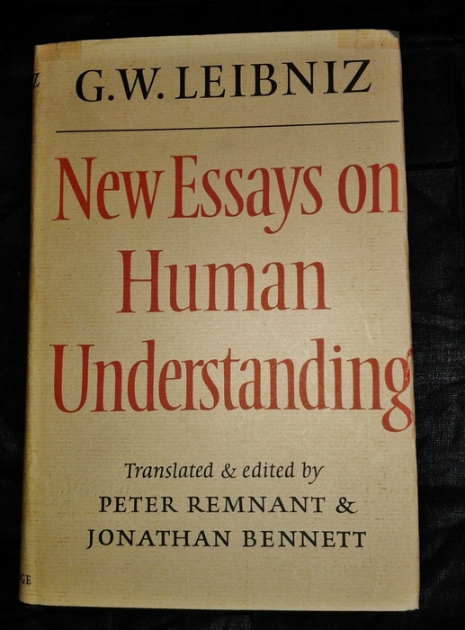 new essays on human understanding leibniz