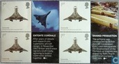 England Concorde lithograph from sheet