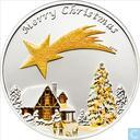 "Palau 5 dollars 2010 (PROOF) ""Merry Christmas"""