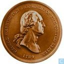 USA George Washington - Peace & Friendship Medal  1789