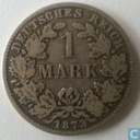 German Empire 1 mark 1873 (C)
