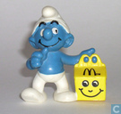 Happy Meal Schtroumpf