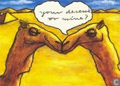 """A000297 - Camel """"Your desert or mine?"""""""