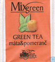 Green Tea  máta&pomeranc