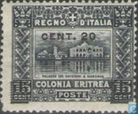 Government Building, with overprint