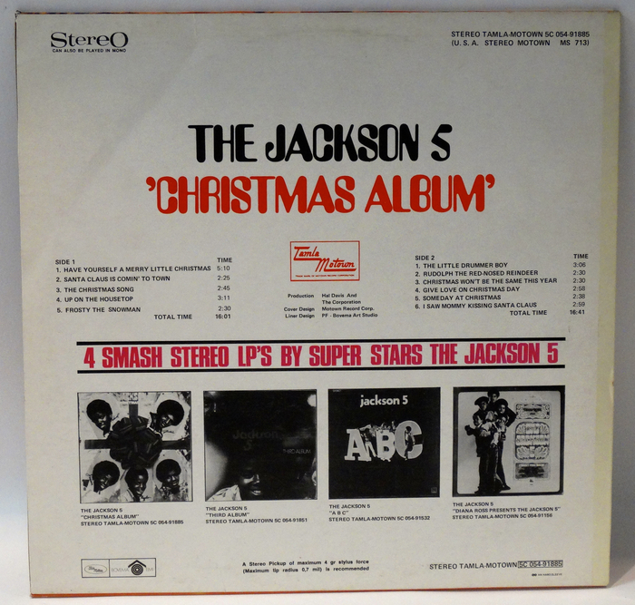 The Jackson 5 Have Yourself A Merry Little Christmas.The Jackson 5 Lot Of 2 Dutch Tamla Motown Albums 2