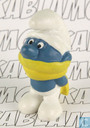 Winter Smurf (yellow shawl)