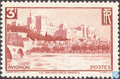 Postage Stamps - France [FRA] - Avignon - Pope Palace