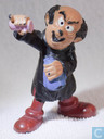 Gargamel with bottles (pink bottle)