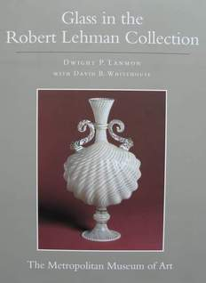 Book : Glass in the Robert Lehman Collection